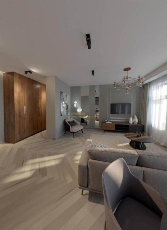 дизайн-интерьера 3-к апартаментов_1комната_1