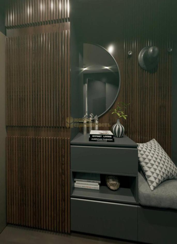 интерьер 1-комнатных апартаментов Маршал_коридор