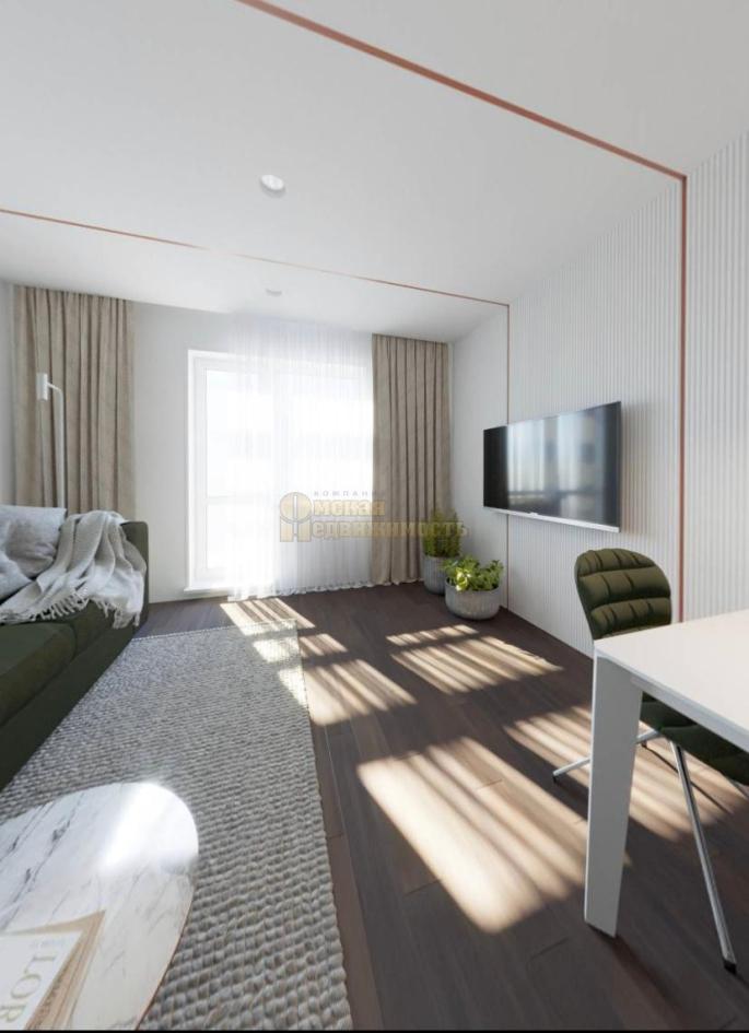 интерьер 1-комнатных апартаментов Маршал