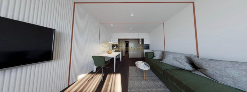 интерьер 1-комнатных апартаментов Маршал_вся комната