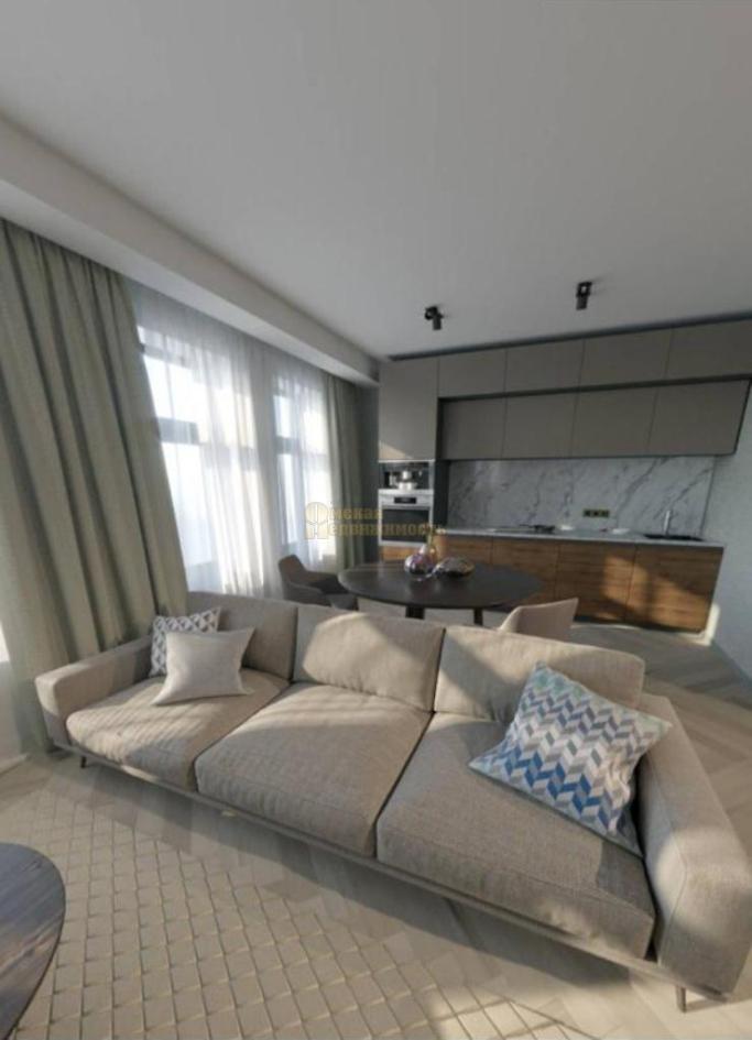 дизайн-интерьера 3-к апартаментов_1комната