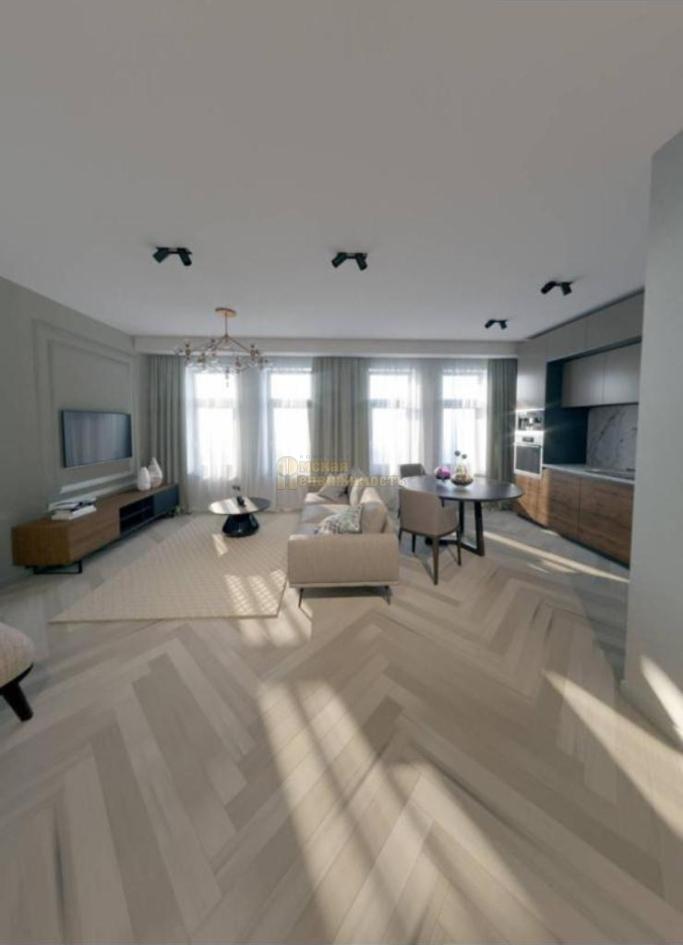 дизайн-интерьера 3-к апартаментов