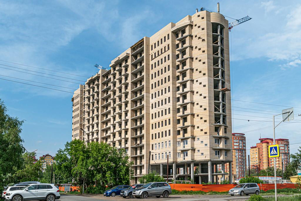 Фасад_ЖК Мята_строится