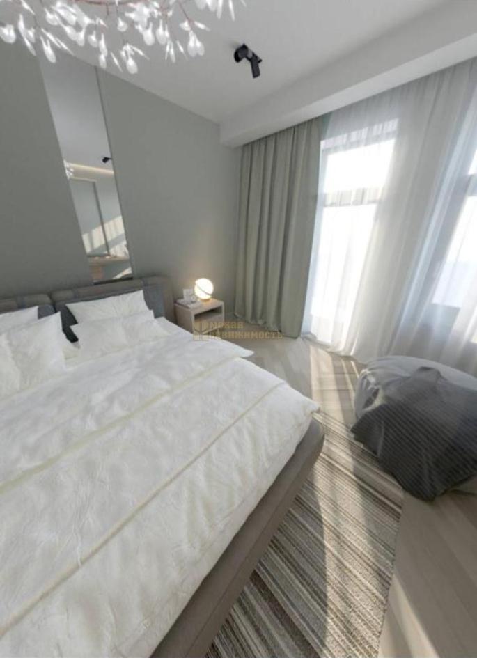 дизайн-интерьера 3-к апартаментов_спальня_окно